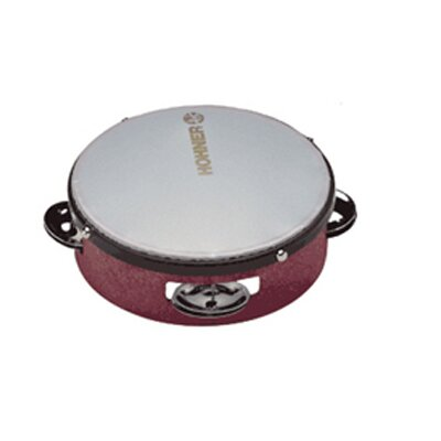 Hohner Inc 6 Multi-colored Tambourine