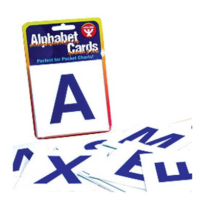 Hygloss Products Inc Alphabet Cards (Set of 30)
