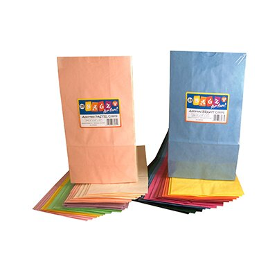 Hygloss Products Inc Colorful Paper Bags Pastel Assorted