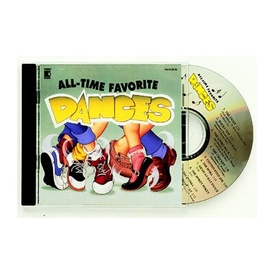 Kimbo Educational All-time Favorite Dances Cd