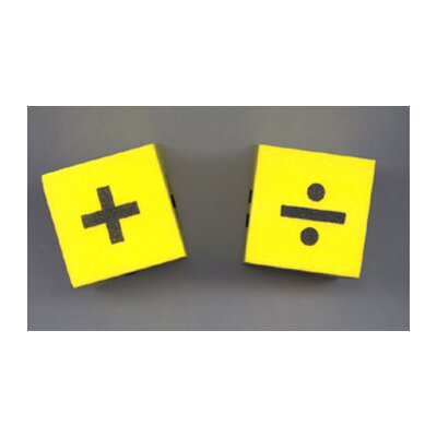 Koplow Games Inc Foam Dice 2 Operator (Set of 2)