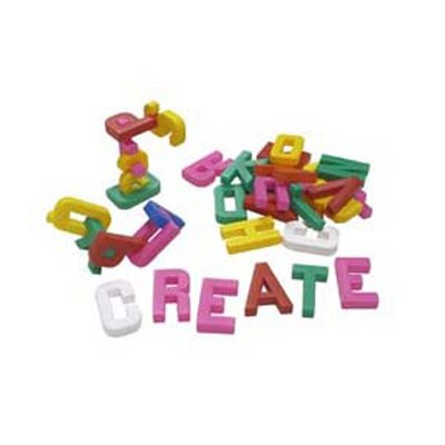 Learning Advantage Alphabet Building Blocks 60 Pieces