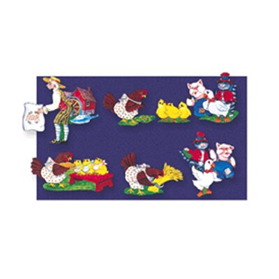 Little Folks Visuals Flannelboards Little Red Hen
