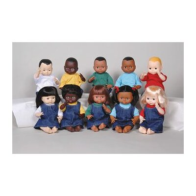 Marvel Education Company Dolls Multi-ethnic 10-doll School