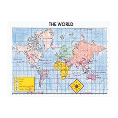 McDonald Publishing Activity Posters The World 30/set