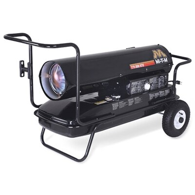 125,000 BTU Forced Air Utility Kerosene Portable Space Heater