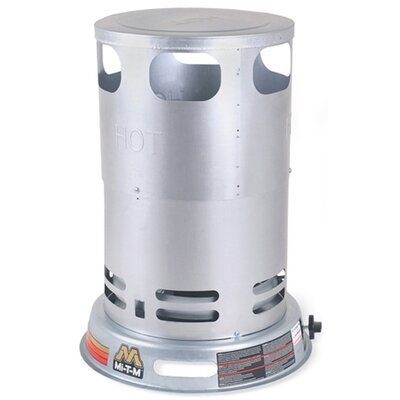 Mi-T-M Gas-Fired Portable 80,000 BTU Convection Propane Tank Top Space Heater
