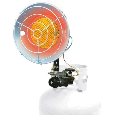 Mi-T-M 15,000 BTU Radiant Tank Top Propane Portable Space Heater