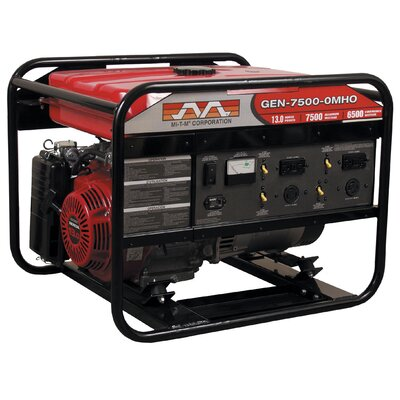 7,500 Watt Portable Gasoline Generator with Electric Start - GEN-7500-0MHE
