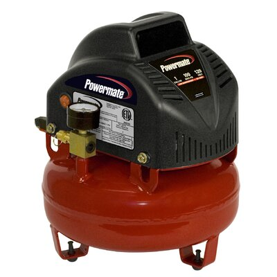 1 Gallon Pancake Air Compressor with 7 Piece Accessory Kit