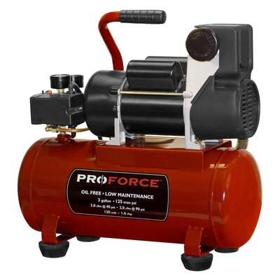 Powermate 3 Gallon Proforce Oil Free Hotdog Air Compressor