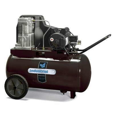 Powermate 20 Gallon Oil Lubricated Belt Drive Industrial Air Compressor
