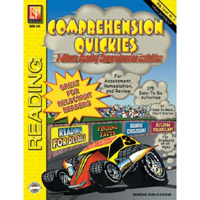 Remedia Publications Comprehension Quickes Reading