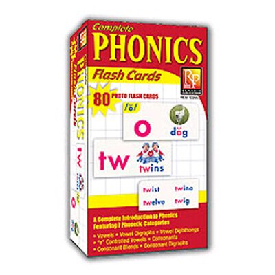 Remedia Publications Phonics Photo Flash Cards
