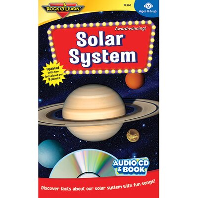 Rock N Learn Solar System Cd + Book