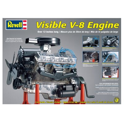 Revell 1:4 Visible V-8 Engine