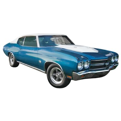 1:24 70 Chevelle Baldwin Motion Plastic Model Kit