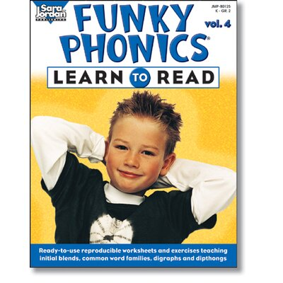 Sarah Jordan Publishing Funky Phonics Learn To Read Vol 4