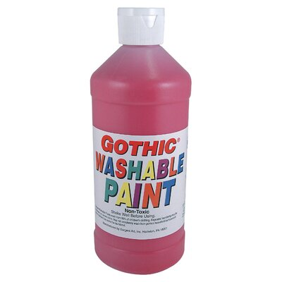 Sargent Art Inc Washable Tempera Magenta 16oz