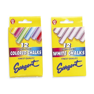 Sargent Art Inc Gothic Board Chalk White