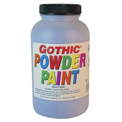 Sargent Art Inc 1lb Gothic Powder Tempera Blue