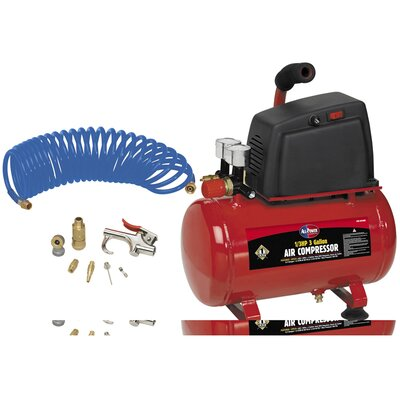 3 Gallon 1/3 HP Air Compressor