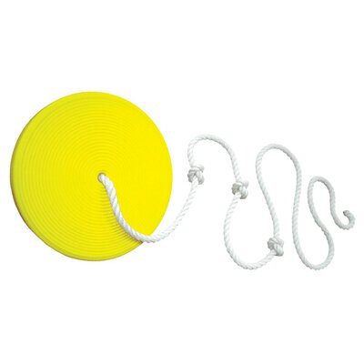 Gorilla Playsets Disc Swing in Yellow