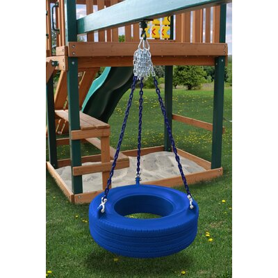 Gorilla Playsets Commercial Grade Tire Swing in Blue