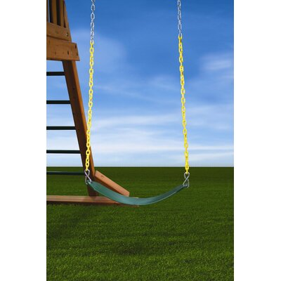 Gorilla Playsets Deluxe Swing Belt in Green