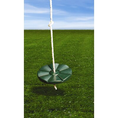 Gorilla Playsets Disc Swing in Green