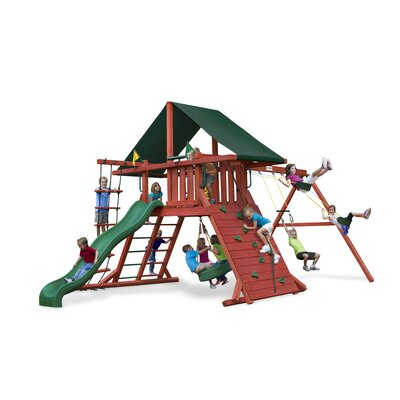 Gorilla Playsets Sun Climber I Swing Set