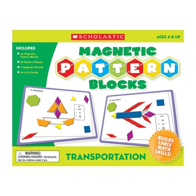 Teachers Friend Transportation Magnetic Pattern