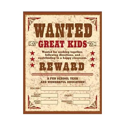Teachers Friend Wild West Ranch Vbs Welcome Chart