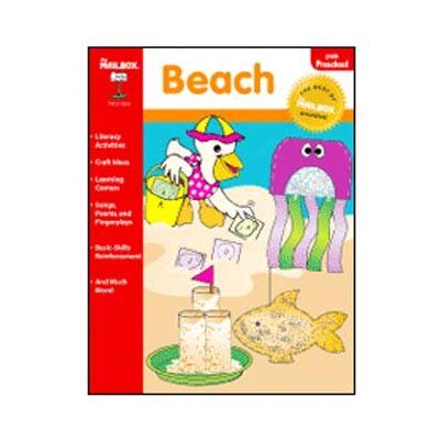 The Education Center Beach Theme Book Prek