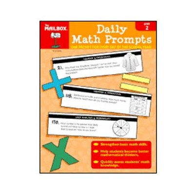 The Education Center Daily Math Prompts Gr 2