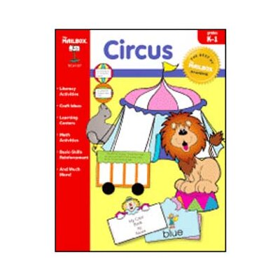 The Education Center Circus Theme Book Prek