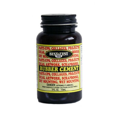 Union Rubber Rubber Cement 4oz
