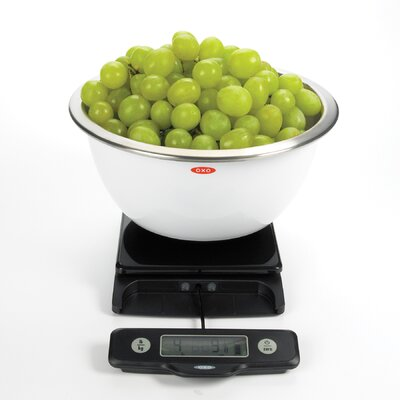 OXO 5Lb Food Scale - Black