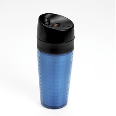 Liquiseal Travel Mug - Plastic (Textured) - Blue