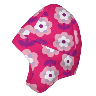i play. Winter Wear Fleece Earwarmer Cap in Pink Floral