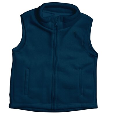 i play. Winter Wear Fleece Vest in Navy