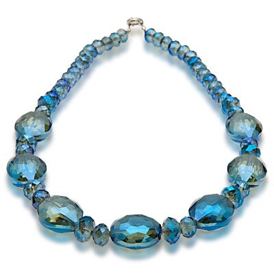 Alexander Kalifano Vienna Gorgeous Glass Necklace