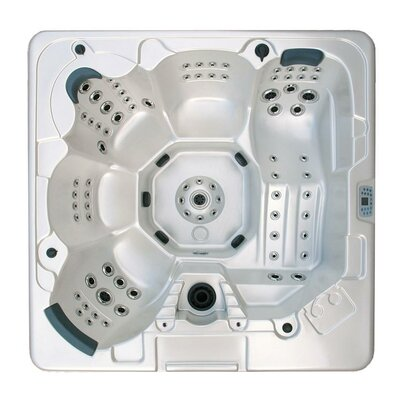 Home and Garden Spas 5-Person 106-Jet Hot Tub with MP3 Auxiliary Output