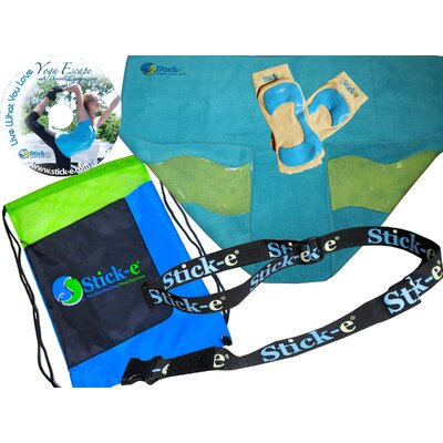 Stick-E Yoga Yoga Anywhere Bundle Towel