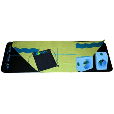 Stick-E Yoga Hot Yoga Bundle in Green Towel