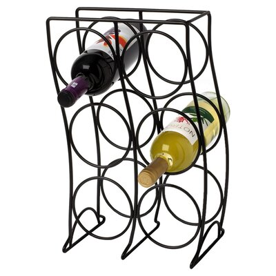 <strong>Spectrum Diversified</strong> Curve 6 Bottle Wine Rack