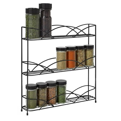 <strong>Spectrum Diversified</strong> Countertop 3-Tier Spice Rack