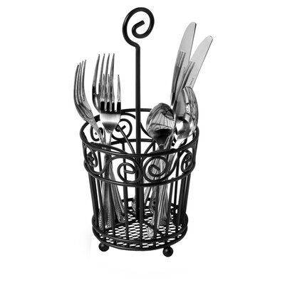 Spectrum Diversified Scroll Silverware Caddy