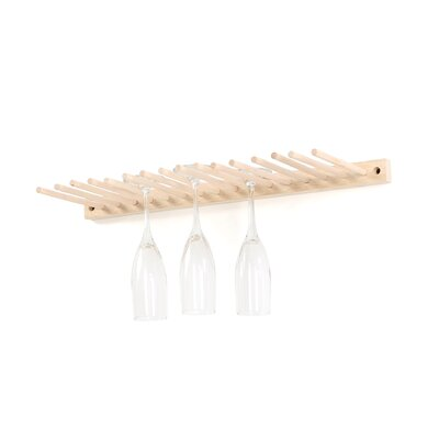 Spectrum Diversified Wall Mounted Wine Glass Rack