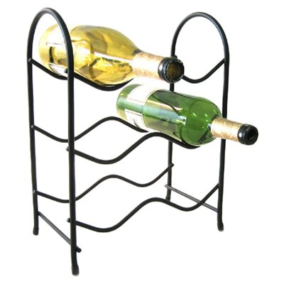 Spectrum Diversified Metro 6 Bottle Tabletop Wine Rack
